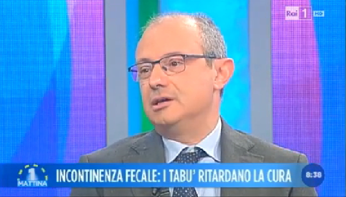 "L'Incontinenza Fecale e il metodo THD® GateKeeper ""ospiti"" di Uno Mattina"